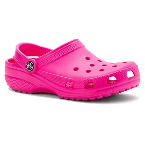 crocs Kid's Classic Clog 10006,Neon Magenta,C10C11 Little - D&g Kids
