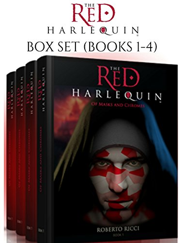 The Red Harlequin Box Set (Books 1-4) by [Ricci, Roberto]