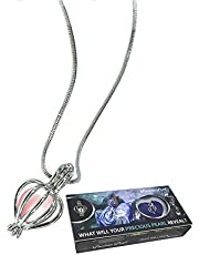 """Northern Response Presents Precious Pearl by My Inspirations, Cultured Pearl in Oyster Necklace Kit Pendant with Rhodium Plated Chain 20"""""""