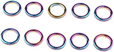 SM SunniMix 10pcs Angelrutenf/ührung Angelrute Spitzenring Keramik Ringe Endringe f/ür Die Meisten Arten von Angelruten