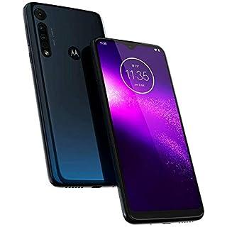 "Moto One Macro (64GB, 4GB) 6.2"", Macro Vision Camera (5X Closer) Dual SIM GSM Unlocked (AT&T/T-Mobile/Metro/Cricket) International Model - XT2016-1 (Space Blue)"
