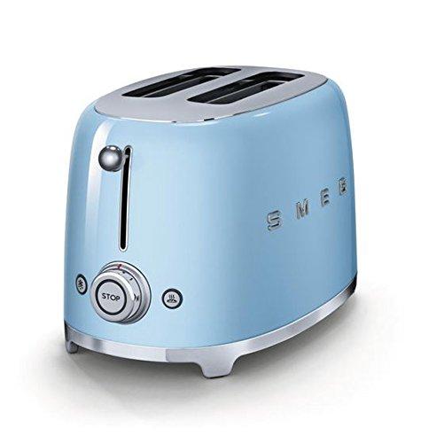 Smeg-TSF01PBUS-50s-Retro-Style-Aesthetic-2-Slice-Toaster-Pastel-Blue