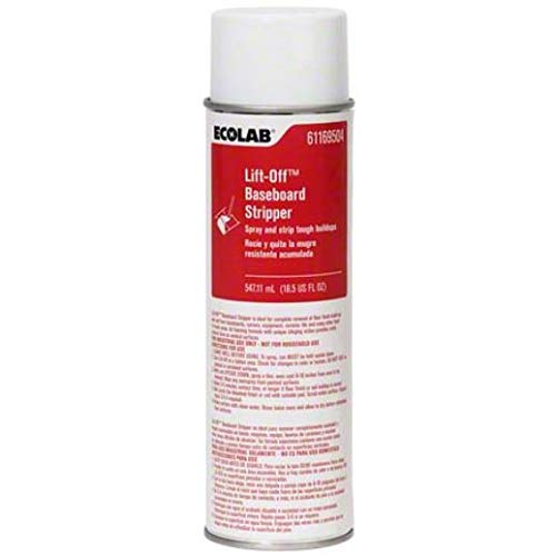 Ecolab 6169504 18-1/2 oz. Lift-Off Aerosol Baseboard Floor Stripper (12 per Case) ()