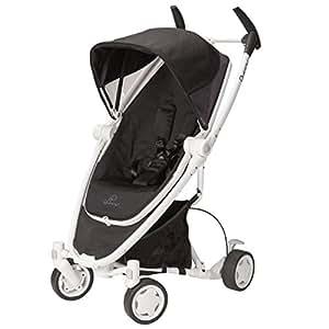 Quinny Zapp Xtra Stroller with Folding Seat, Black Irony