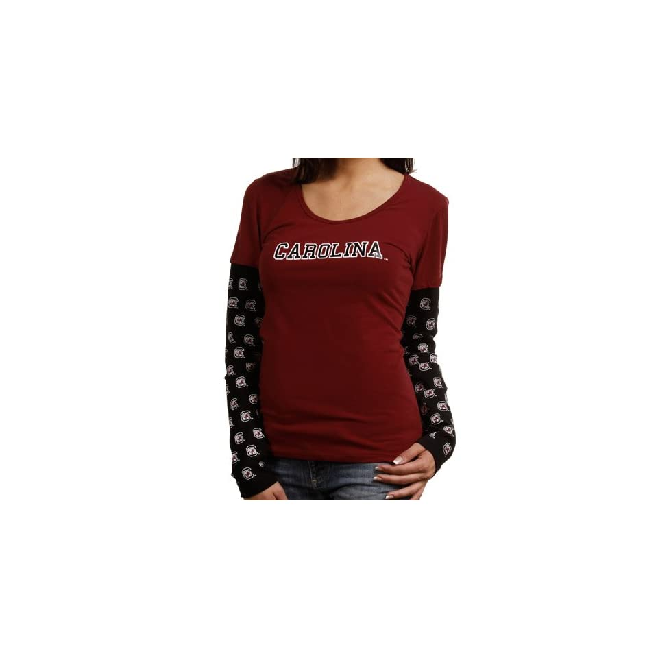 South Carolina Gamecocks Ladies Cool Down Double Layer
