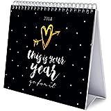 Grupo Erik Editores   Calendario Sobremesa Deluxe 2018 Glitter