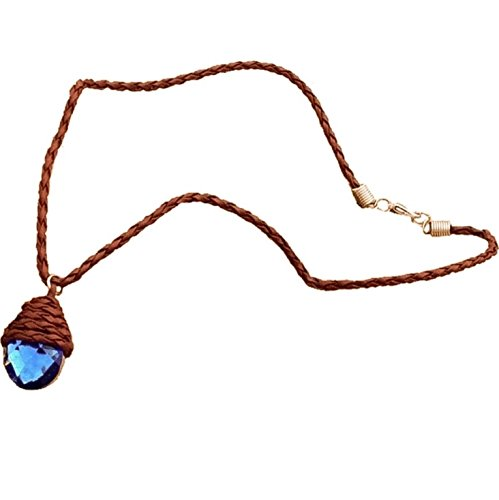 Official H2O Just Add Water Mako Mermaid Blue Crystal Pendant Season 3 Merchandise