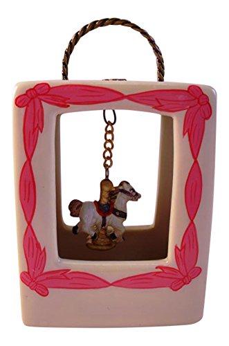 Carousel Hinged - Carousel Horse Purse Hinged Miniature Trinket
