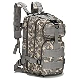 SolarM Outdoor Camping Adjustable Military Tactic Backpack Rucksacks Hiking Travel Bag Daypack Mochilas