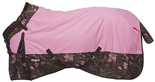 - Tough 1 Timber 1200D Waterproof Poly Snuggit Turnout Blanket, Pink, 81
