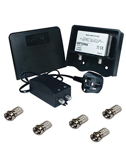 Vision Optima - Amplificador de señal de televisión: Amazon.es: Electrónica