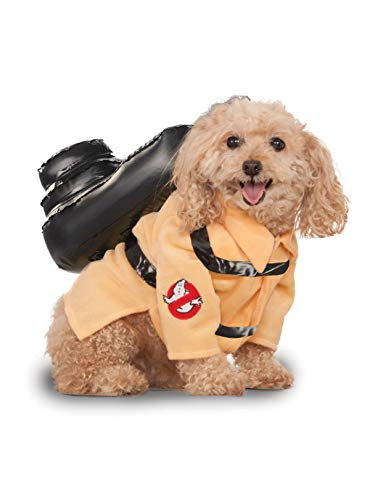 Ghostbusters Movie Pet Costume, Medium, Ghostbuster Jumpsuit]()
