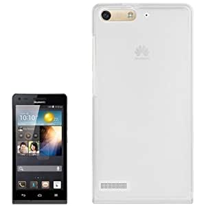 Translucent Frosted TPU Case for Huawei Ascend G6 (Transparent)