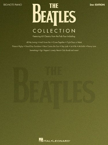 The Beatles Collection 2nd edition (Big Note Piano)