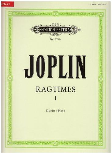 Ragtimes - Band 1 (1899-1906): für Klavier