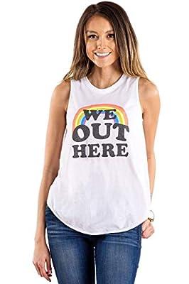 Women's Pride Tank Tops - Funny Rainbow Themed Pride Shirts