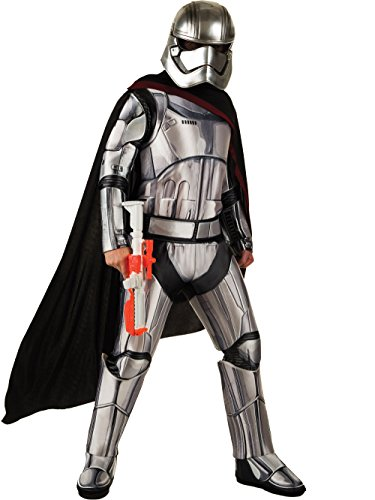 Star Wars: The Force Awakens Deluxe Adult Captain Phasma Costume, Standard, Multi-colored