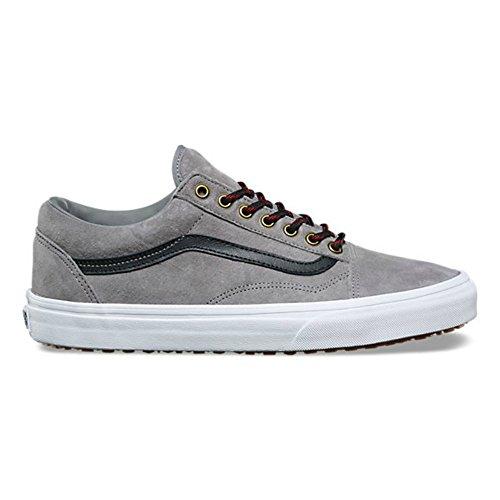 Vans Old Skool Mte Vorst Grijs / True White Heren Klassieke Skate Schoenen