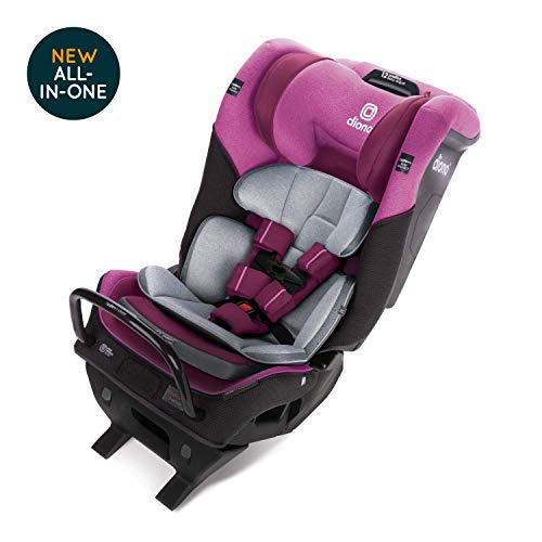 Diono Radian 3QXT Latch, All-in-One Convertible Car Seat, Purple Plum