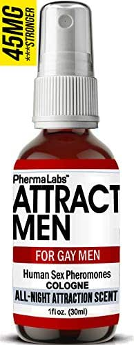 Gay Cologne with Human Pheromones -Instantly Attract Men (All Night Scent) Human Sex Pheromone 45mg