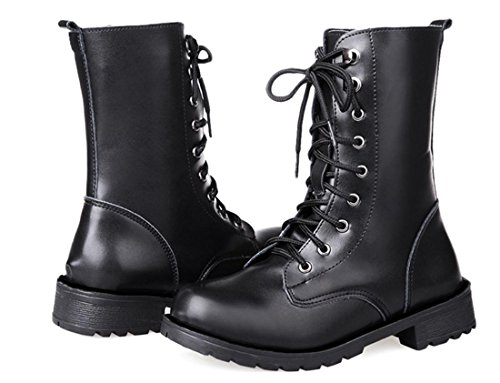 XDGG Women'S Shoes Single Boots Martin Boots Artificial PU Casual And Comfortable , 39