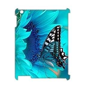 Beautiful butterfly Custom 3D Case for Ipad 2,3,4, 3D Personalized Beautiful butterfly Case by lolosakes