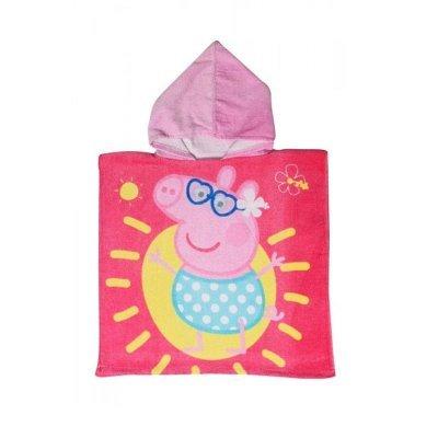Factorycr Poncho toalla microfibra Peppa Pig 50 x 100 cm