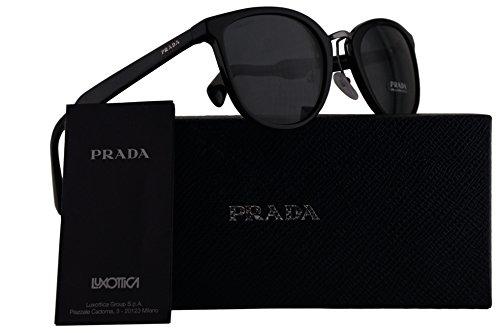 Prada PR22SS Sunglasses Black w/Grey 52mm Lens 1AB1A1 SPR22SS PR 22SS SPR - 2016 Eyeglasses Prada