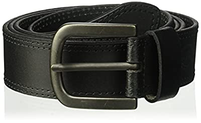 Dickies Mens Two Row Stitch Belt