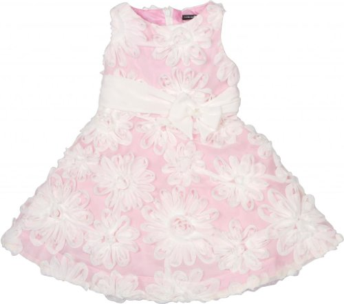 David Charles Of London Party Dress With Ivory Florets 4 YR -