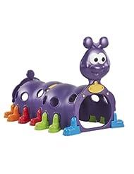 ECR4Kids Peek-A-Boo Caterpillar Climbing Play Structure