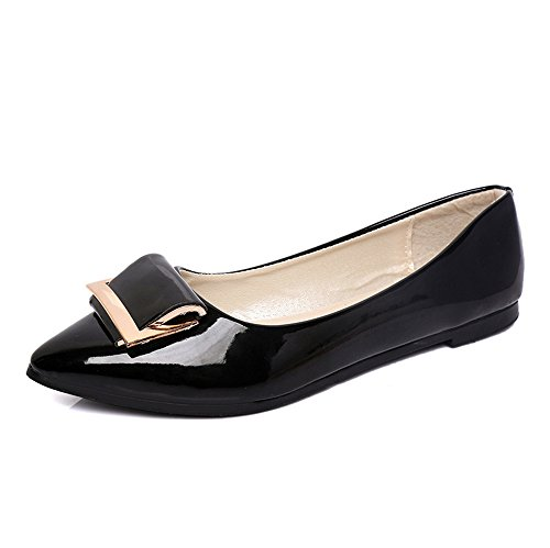 Heel Low Ballet Flat LYLIFE Comfort Light Basic Shoe Black Women's xqE6AwP0