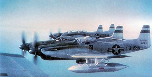 (Home Comforts Laminated Poster F-82 Twin Mustangs The 27th Fighter Wing in Flight from Kearney Air Force Base, Nebraska.)