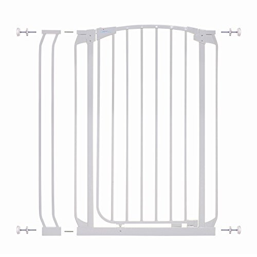 (Dreambaby Chelsea Extra Tall Auto Close Security Gate w/ 3.5
