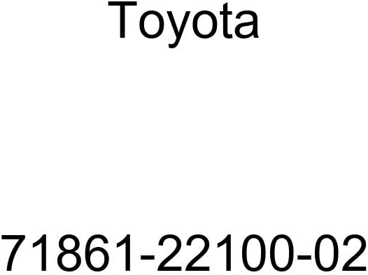 TOYOTA Genuine 71861-22100-02 Seat Cushion Shield