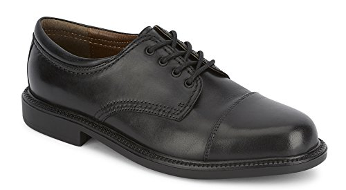 Dockers Men's Gordon Leather Dress Captoe Oxford Shoe, Black, 12 D(M) US by Dockers