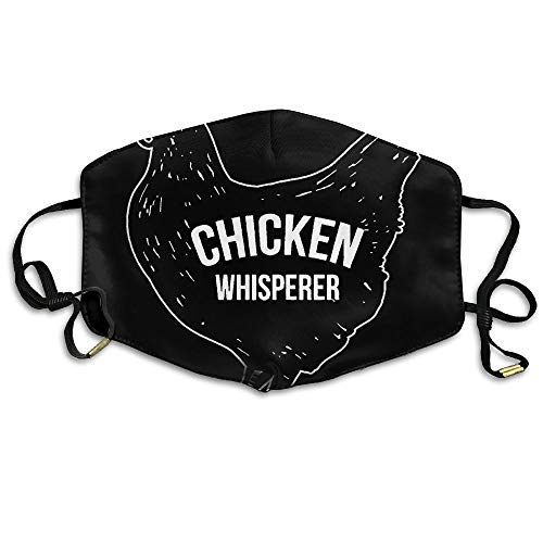 Chicken Whisperer Unisex Face Mask Ear-loop Anti-dust Mask Cycling Reusable Mask
