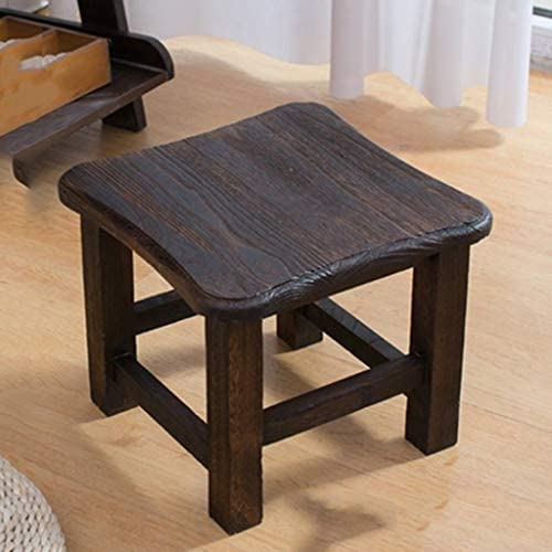 Creative Vanity Stool Household Livingroom Reststool Wooden Step Stool Childrens Dining Stool Great For Kitchen Bathroom