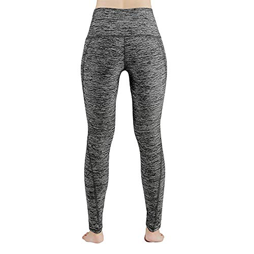 4e01d1003ebed AOJIAN Yoga Pants Buttery Soft Tummy Control Pocket Jogger Capri Workout  Running Sports Leggings for Women