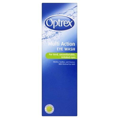 Optrex Multiaction Eye Wash with Eye Bath x 300ml by Optrex