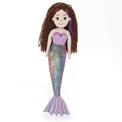 Sea Sparkles 18-inch Mermaid Pearl Plush