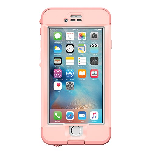 Lifeproof NÜÜD SERIES iPhone 6s ONLY Waterproof Case - Retail Packaging - FIRST LIGHT (PINK JELLYFISH/CLEAR/SEASHELLS PINK) by LifeProof (Image #2)