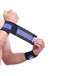 Loriaua Sport Injury Bandage Adjustable Wristbands Elaborate Elbow Wrist Support Compression Wrap Wrist Adjustable Wristbands