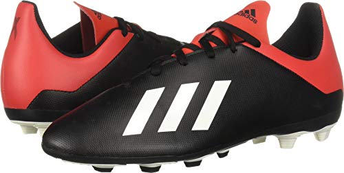 Price comparison product image adidas Unisex X 18.4 Firm Ground,  Black / Off White / Active red 3 M US Little Kid