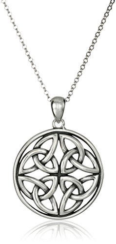 Sterling Silver Celtic Knot Pendant Necklace