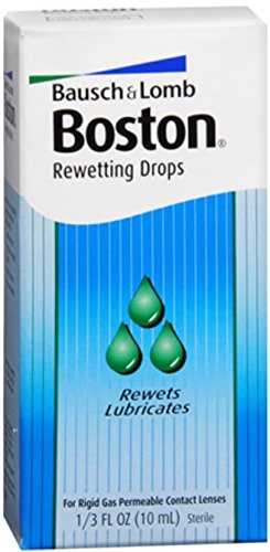 Lens Drops Rewetting (Bausch & Lomb Boston Rewetting Drops 10 mL (Pack of 2))