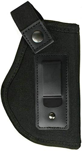 Jwxstore Gun Concealed Carry IWB Holster, Inside The Waistband Holster, Fits all Firearms S&W M&P Shield 9/40 1911 Ruger LC9 Taurus PT111 G2 Sig Sauer Glock 17 19, Right-Handed, 2 Piece -