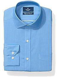 Men's Tailored Fit Stretch Poplin Non-Iron Dress Shirt
