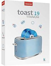 Roxio Toast 19 Titanium | CD & DVD Burner for Mac | Disc Burning, File Conversion, Multimedia Suite [Mac Disc]