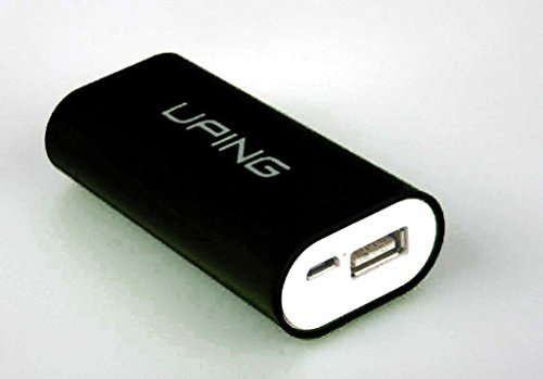 Buona qualità Nero caricabatterie portatile 4400 mAh Banca di potere per Apple iPhone 6/6 +, 5 / 5s, 5C, Ipod Samsung S5, S4, S3, tutti Mp4 Genreations Mp3 Sony Creative Samsung, HTC, Motorla